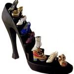Stiletto heel. Ouch!