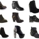 Ankle boots. Come to just above the ankle