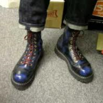 Bovver boots - pretty cool, eh?