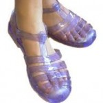 Sweet feet? Jelly shoes