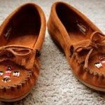 Dance round your bonfire in these moccasins