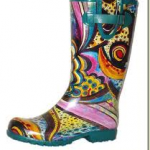 Rainbow rainboot