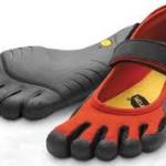 Ha! Toe shoes.
