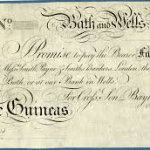 Our banks used to issue their own bank notes and for centuries there was no uniformity. Very collectable now!