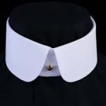 Double round collar
