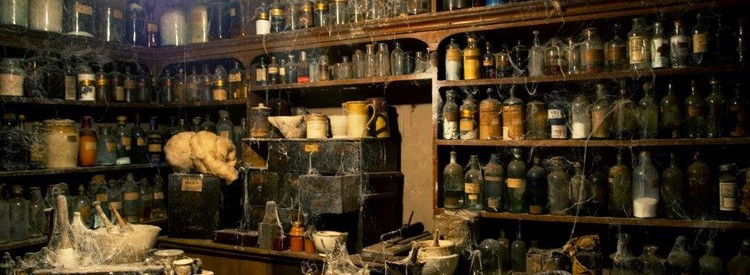 The forgotten chemist shop