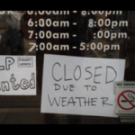 Does the weather affect sales in the retail sector?