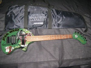 The Boba Fett guitar!