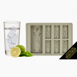 The Han in crabonite ice tray