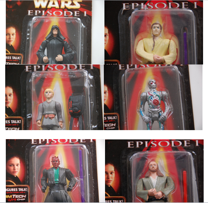 """These are not the Star Wars action figures you're looking for…"""""""