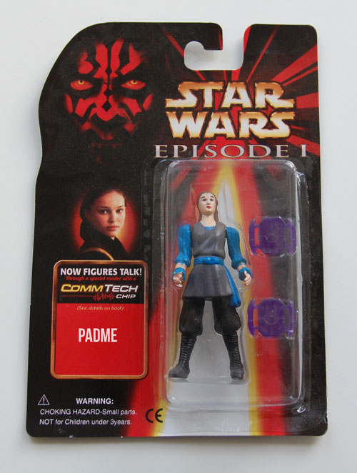 Naboo Queen Padmé Amidala… with two purple dinner trays