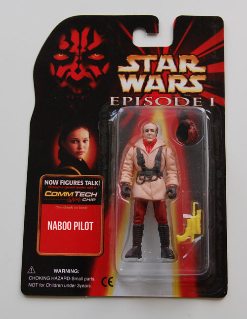 Ric Olié, who is actually one of Naboo's Pilots