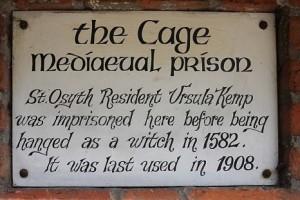 The Cage, Osyth