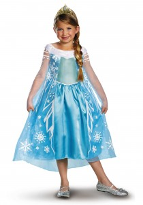 The Frozen Frock - it's blue, it's overpriced and it's every little girls' dream dress!