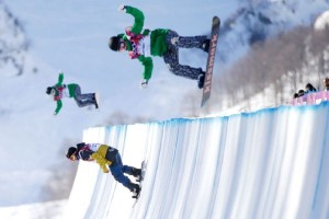 Skateboarding half pipe for the Summer Olympics - that would be cool!