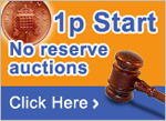 1P Auction, No Reserve