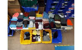 One Off Joblot Of 119 Ladies Winter Hats, Gloves And Head Warmers