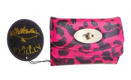Joblot of 13 Atticus Wallets Ladies 'Evil Thing' Hot Pink Leopard Print Fashion