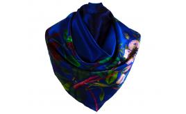 Joblot of 10 Scarves Voxish Industries 100% Silk 'Wearable Art' Various Designs
