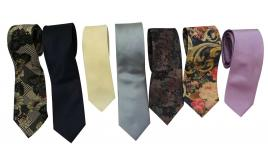 Wholesale Joblot of 20 Mens Assorted Ties Ideal For a Wedding