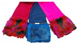 Wholesale Joblot of 10 Ladies Cloppies Flash Scarves Two Colours SCA05