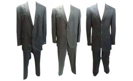 One Off Joblot of 9 Mens Odermarks & Varteks Pin Stripe Suits 4 Styles