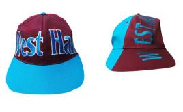 Wholesale Joblot of 50 West Ham Football Snapback Caps 2 Styles