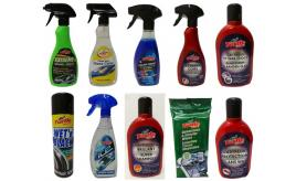 Wholesale Joblot of 100 Assorted Turtle Wax Car Products