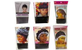 Wholesale Joblot of 100 Mixed Hair Covers Wraps Durags Caps Etc