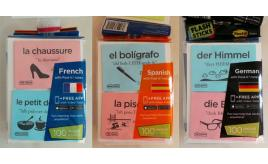 Wholesale Joblot of 55 Flash Sticks Language Learning Post-It Notes