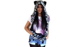 Wholesale Mixed 13pcs Animal Hoodie Faux Fur Hat Scarf Gloves With Ears- Clearance Sale - Must go!