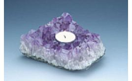 Amethyst T. Lite Holders