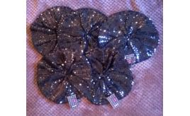 5 off Ladies Sequin Beret French Style Hats