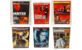 Wholesale Joblot 500 DVDs 8 Different Titles inc Terminator and Revolver