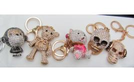 48 x Shimla Gorgeous Crystal encrusted key chains