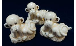 Wholesale Joblot of 60 Madame Posh 'Shadow' Monkey Figurines 40477