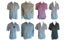 Wholesale Joblot of 20 Mens & Womens Assorted Workwear Smart Shirts