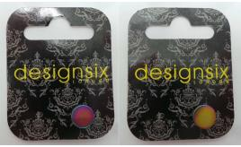Wholesale Joblot of 30 DesignSix Multi-Coloured Double Sided Earrings