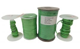 One Off Joblot of 177m of Green High Quality Flat Real Leather Cords 5mm Wide
