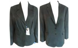 One Off Joblot of 8 Ladies Formal Workwear Blazer Jackets Black & Charcoal