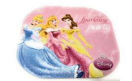 Wholesale lot of 100 x official Disney Princess PC Computer Mouse Pads / Mats - Pink Sparkling Party DSY-MP013