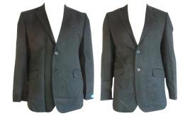 One Off Joblot of 10 Mens Co-Operative Workwear Blazer Jackets Black & Grey