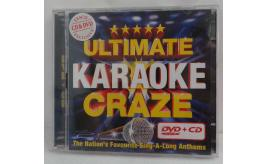 Wholesale Joblot of 100 Ultimate Karaoke Craze CD & DVD 15 Classic Songs