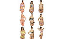One Off Joblot of 25pcs Boutique, Ladies Mixed Swimwear Bikini Sets