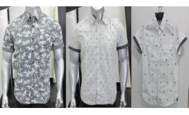 Wholesale Joblot of 50 Private Member Mens Printed Shirts 3 Prints