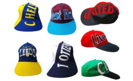 Wholesale Joblot Of 100 Football Snapback Baseball Caps, Nine Teams Available
