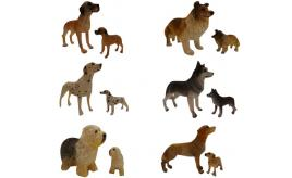 Wholesale Joblot of 100 Dog Ornaments Variety of Different Breeds Packs of 2