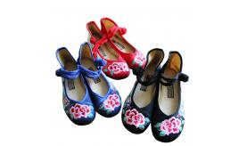 Last Chance Clearance: over 600 pairs of Lady Embroidery Shoes, Mixed style+colour and Size range from UK3-8.5