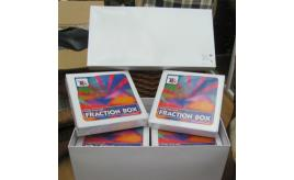 30 x TTS Fraction boxes. Educational teaching supplies