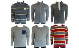 Wholesale Joblot of 10 Mens Mixed Jumpers - Sweatshirts, Hoodies & Knitted
